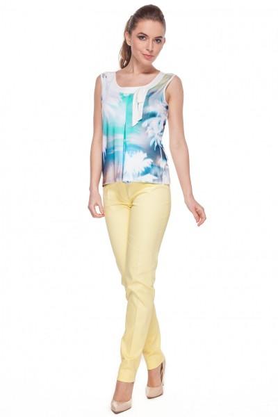 Biała-bluzka-w-niebieskie-palmy-Mũso