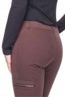 Brązowe-bawełniane-spodnie-z-kieszeniami-Rabarbar-3