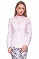 Jasnoróżowa-koszula-z-pionową-listwą-Duet-Woman-1