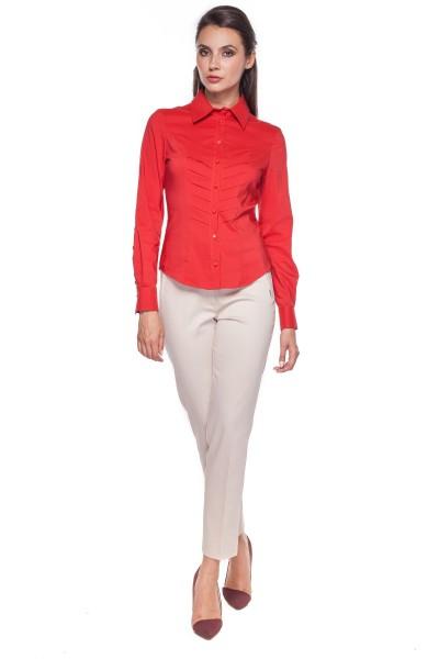 Klasyczna-czerwona-koszula-Duet-Woman