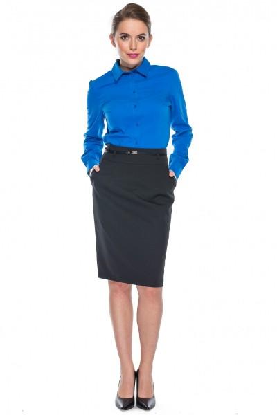 Kobaltowa-klasyczna-koszula-Duet-Woman