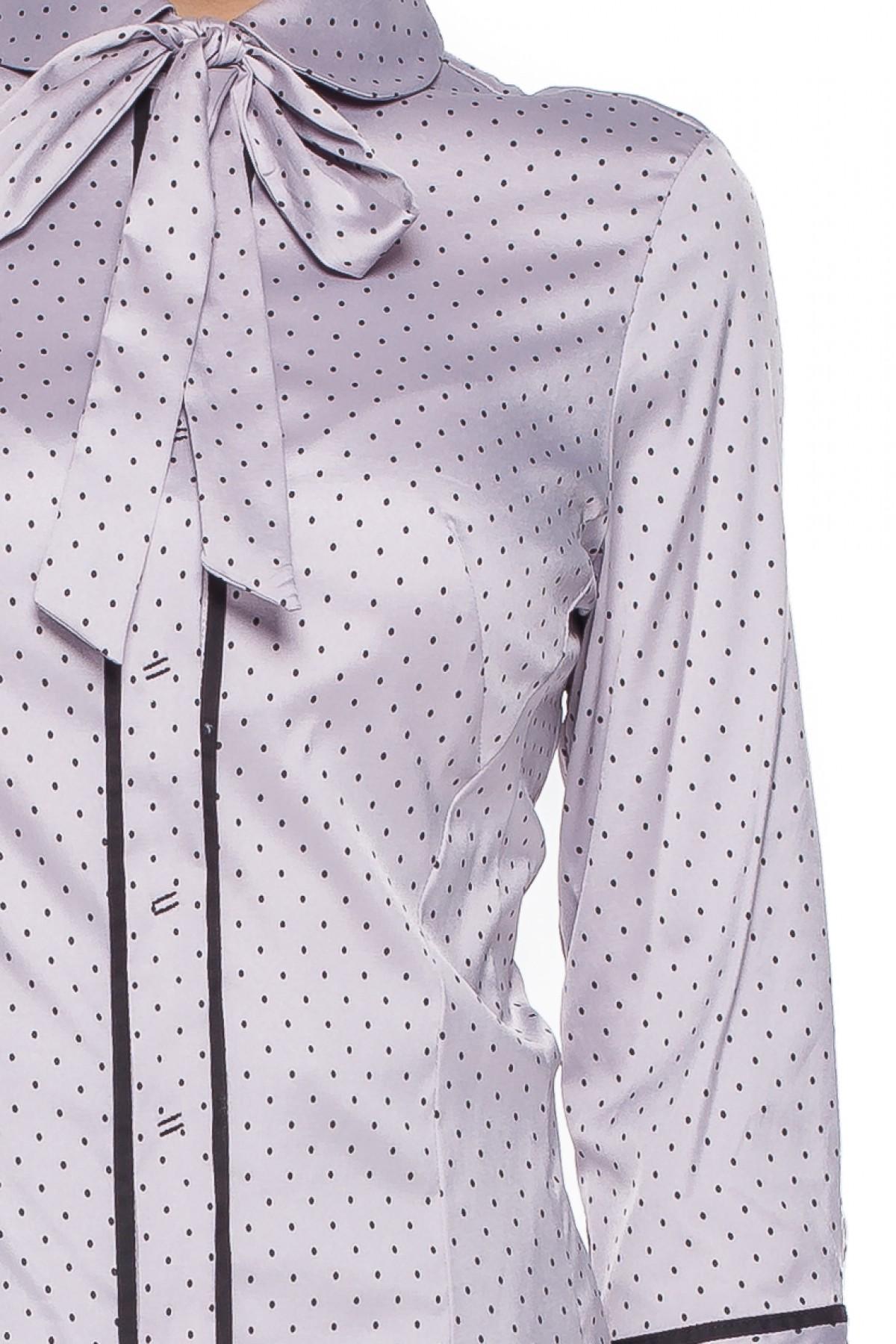 Koszula w kropki z wiązaną kokardą – Duet Woman | Sorbette blog  8th8p