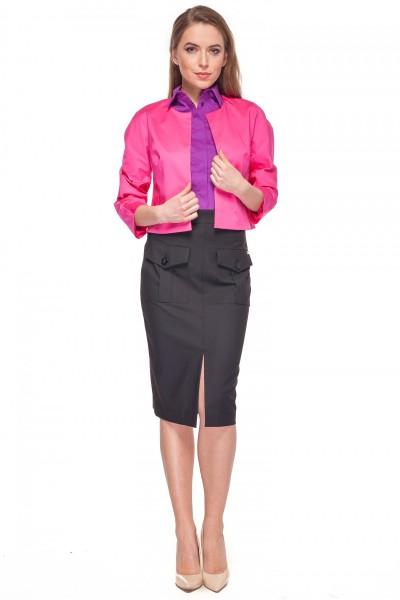 Krótki-różowy-żakiet-Bialcon