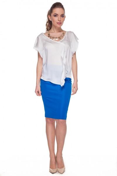 Ołówkowa-spódnica-w-kolorze-kobaltowym-De-Facto