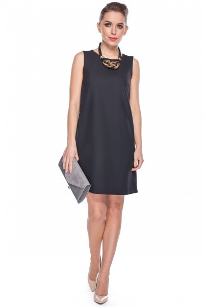 Sukienka-klasyczna-w-kolorze-czarnym-Bialcon