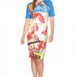 Sukienka-w-kolorowe-kwiaty-Confashion
