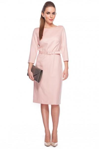 Sukienka-w-kolorze-pudrowy-róż-GaPa-Fashion