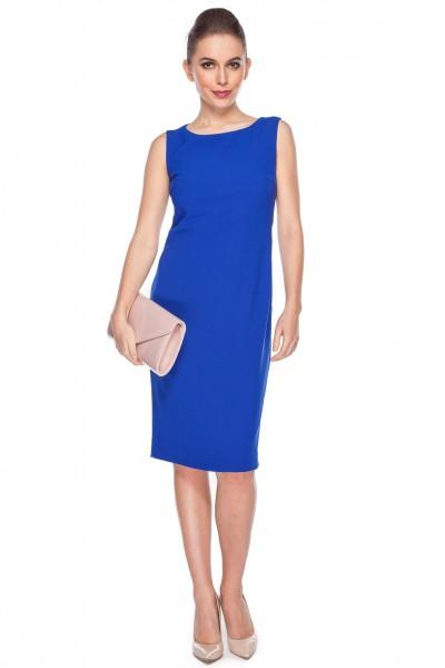 Sukienka-w-kolorze-szafirowym-De-Facto