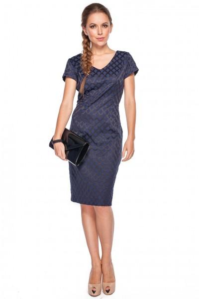 Sukienka-w-romby-De-Facto