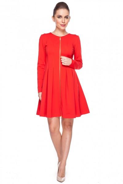 Sukienka-z-ozdobnym-zamkiem-Bialcon